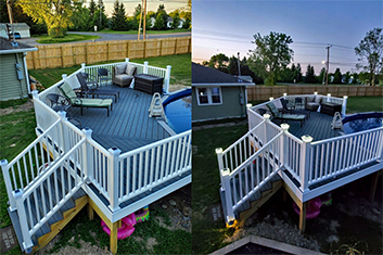 new deck in east aurora, ny or wny