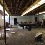 a room under repair